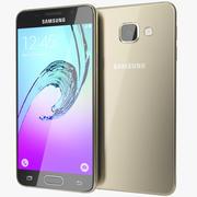 Samsung Galaxy A3 2016 Dourado 3d model