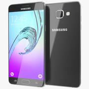Samsung Galaxy A5 2016 Preto 3d model