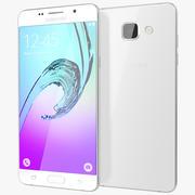 Samsung Galaxy A5 2016 Branco 3d model