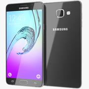 Samsung Galaxy A7 2016 Svart 3d model
