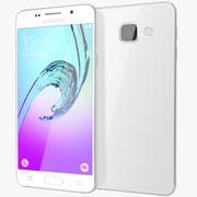 Samsung Galaxy A3 2016 Branco 3d model