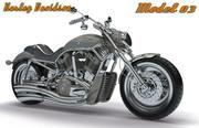 ハーレーダビッドソンコレクション-モデル03 3d model