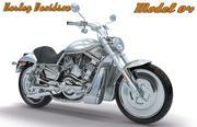 ハーレーダビッドソンコレクション-モデル04 3d model