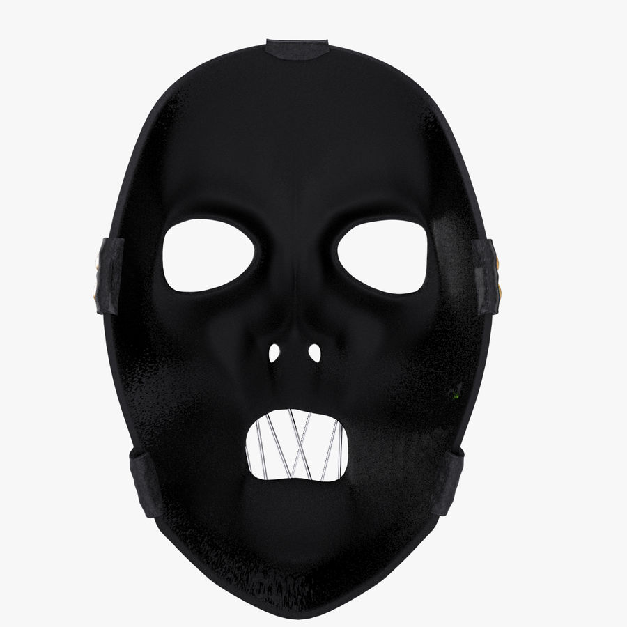 Mask SlipKnot royalty-free 3d model - Preview no. 7