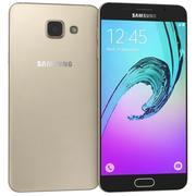 Samsung Galaxy A5 (2016) Dourado 3d model