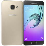 Samsung Galaxy A3 (2016) Gold 3d model