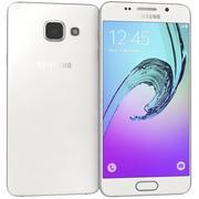 Samsung Galaxy A3 (2016) White 3d model