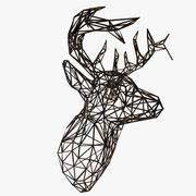 Głowa jelenia 3d model