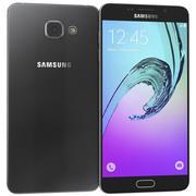 Samsung Galaxy A7 (2016) Svart 3d model