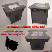 Arcade Game Machine 3d model