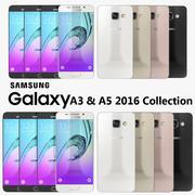 Samsung Galaxy A3&A5 2016コレクション 3d model