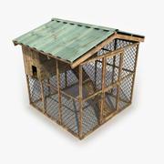 Hühnerstall 3d model