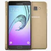 Samsung Galaxy A7 (2016) Guld 3d model