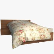 Realistic Bed 10 3d model