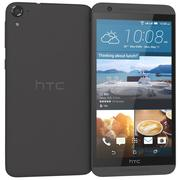 HTC One E9s dual sim Meteor Gray 3d model