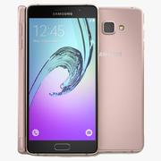 Samsung Galaxy A7 2016 Pink 3d model