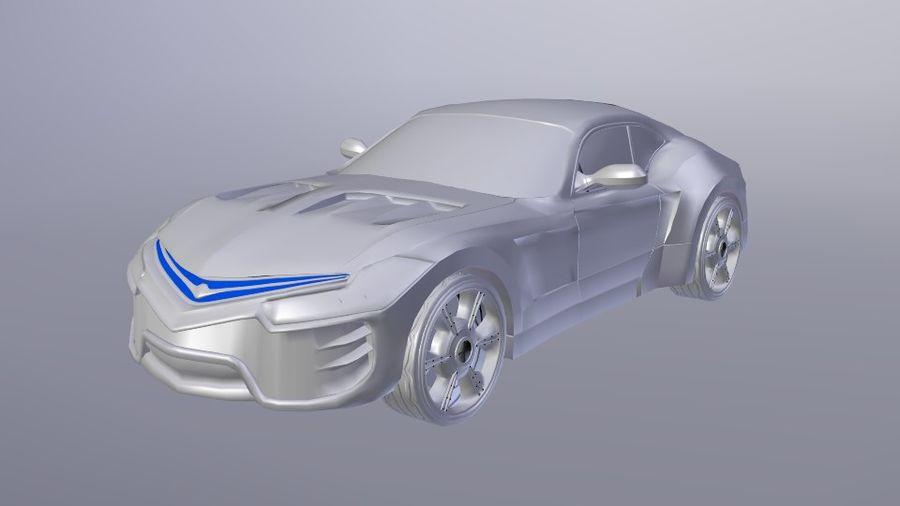 概念车 royalty-free 3d model - Preview no. 5