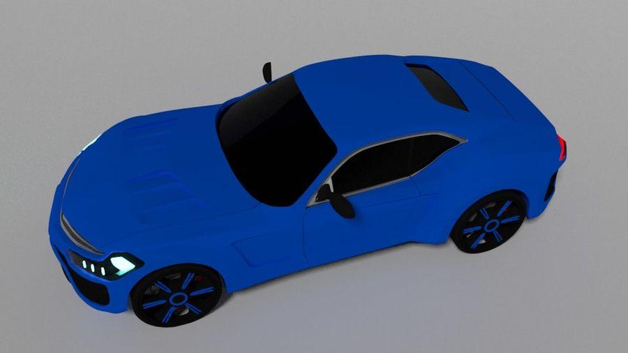 概念车 royalty-free 3d model - Preview no. 4