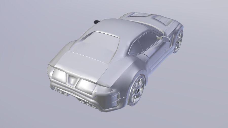 概念车 royalty-free 3d model - Preview no. 6