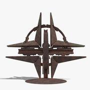 Logo Monument OTAN 3d model