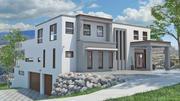房屋模型-124C 3d model