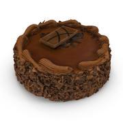 Chocolate Cake 03 3d model