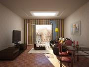 Interno della stanza 3d model