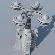 建筑04 3d model