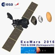 TGO ExoMars 3d model