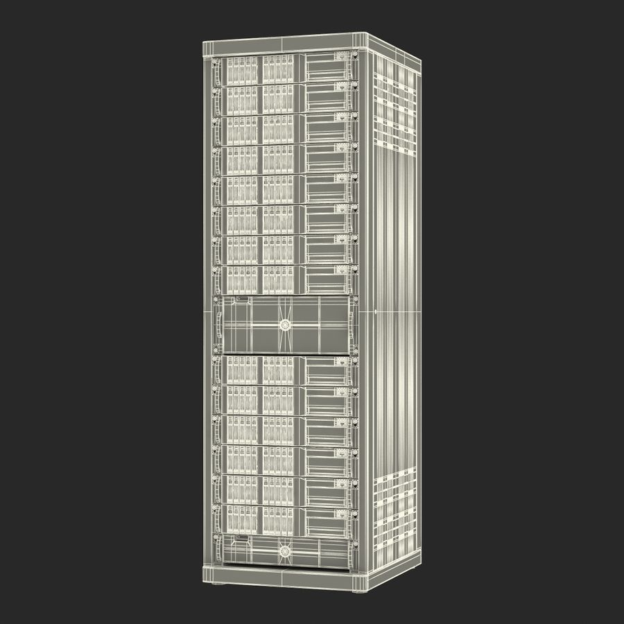 Servers in Rack royalty-free 3d model - Preview no. 21