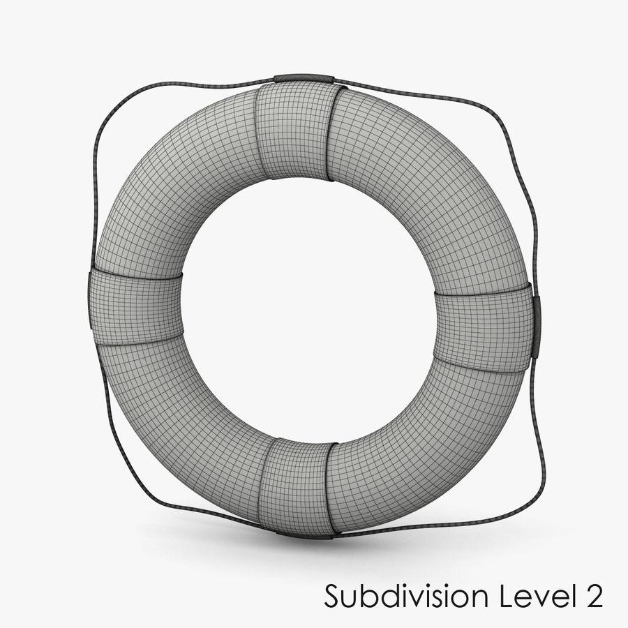 Salvavidas royalty-free modelo 3d - Preview no. 9