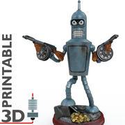 gangster Bender 3d model