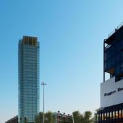 komplette städtische Stadtteilgebäude und Wolkenkratzer 3d model