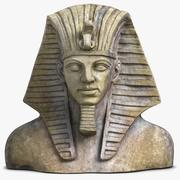 Egypt Tutankhamun Mask 3d model