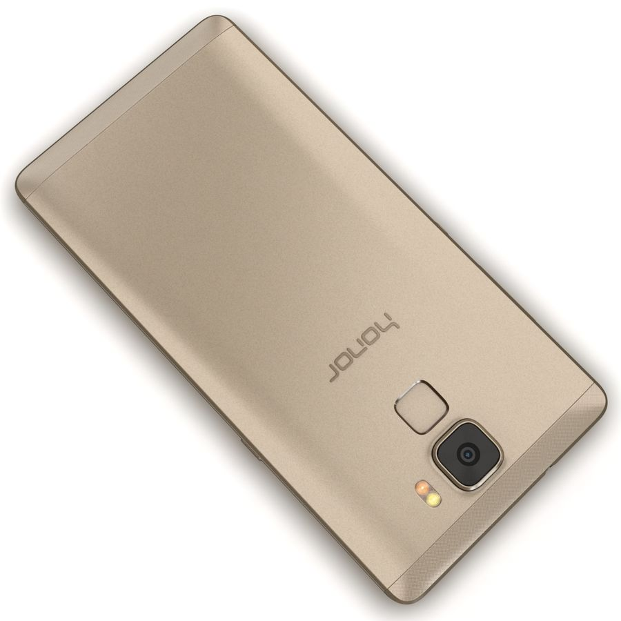 Huawei Honor 7 Gold royalty-free 3d model - Preview no. 12
