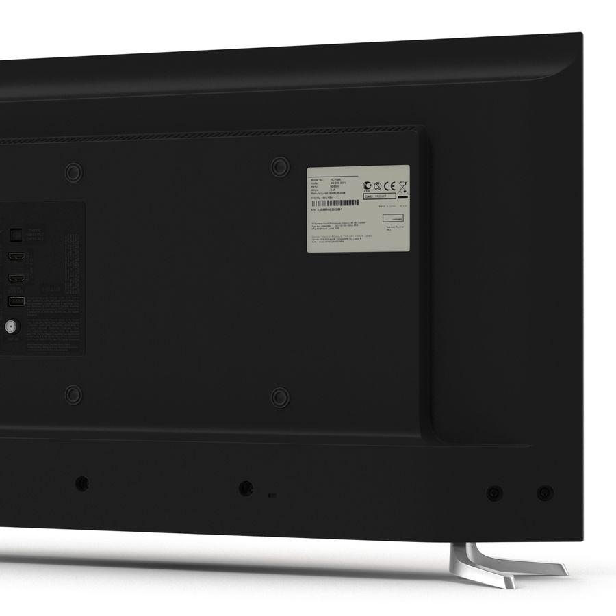 TV LED générique royalty-free 3d model - Preview no. 12