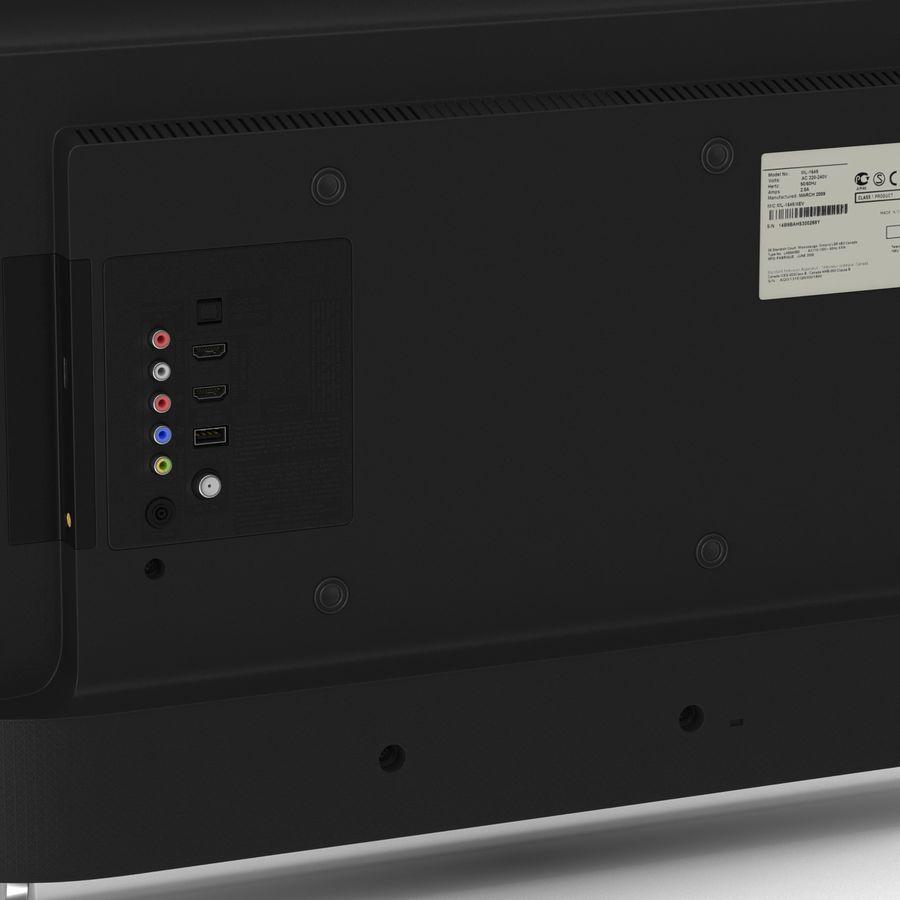TV LED générique royalty-free 3d model - Preview no. 13