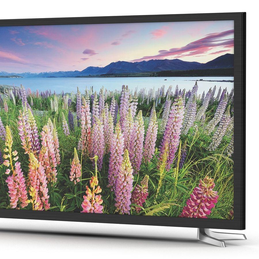 TV LED générique royalty-free 3d model - Preview no. 10