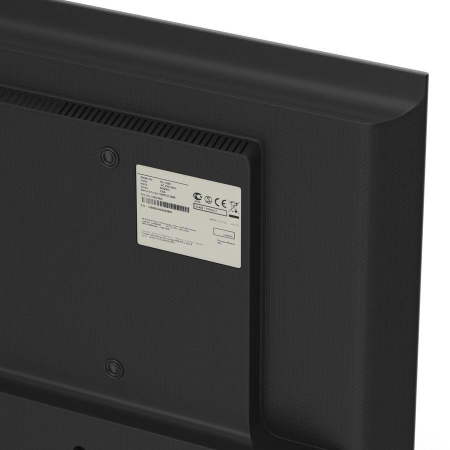 일반 LED TV royalty-free 3d model - Preview no. 15