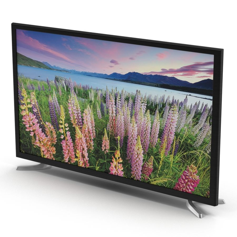 일반 LED TV royalty-free 3d model - Preview no. 3