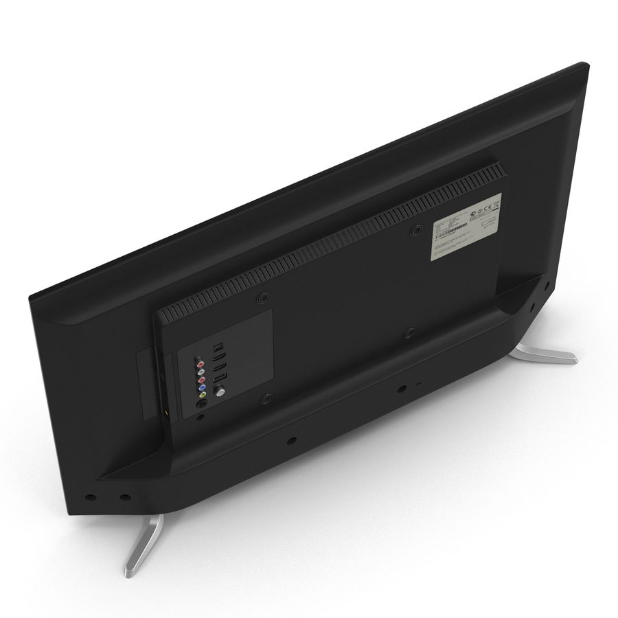 일반 LED TV royalty-free 3d model - Preview no. 8