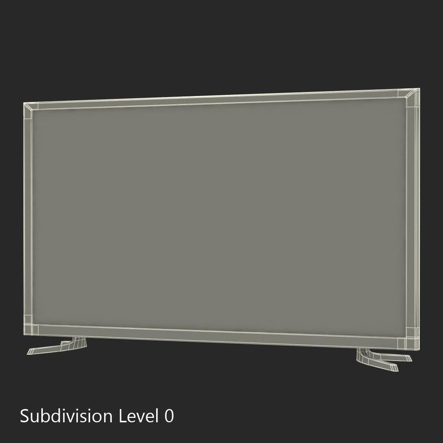 TV LED générique royalty-free 3d model - Preview no. 18