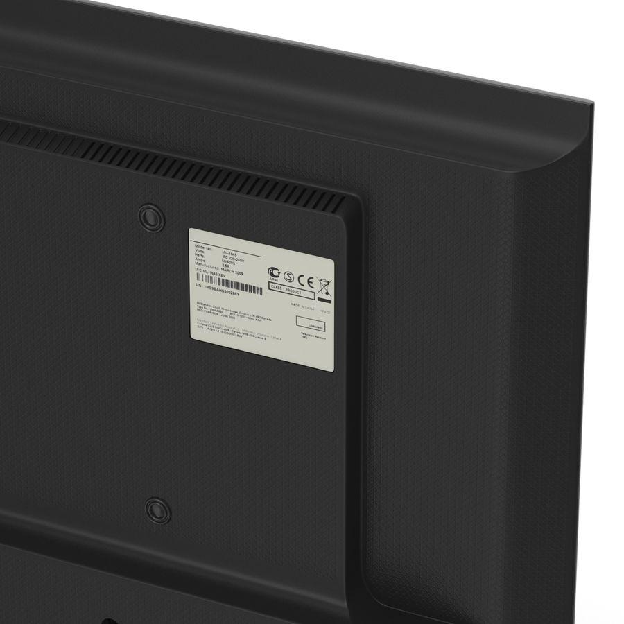 TV LED générique royalty-free 3d model - Preview no. 15