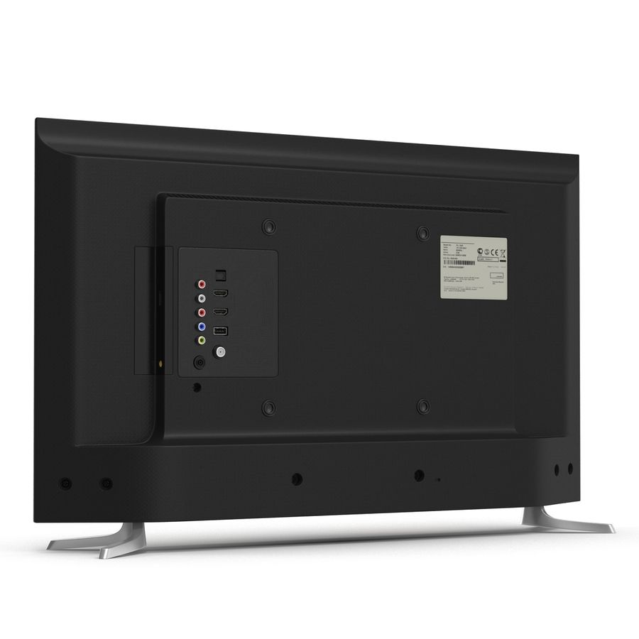 일반 LED TV royalty-free 3d model - Preview no. 6