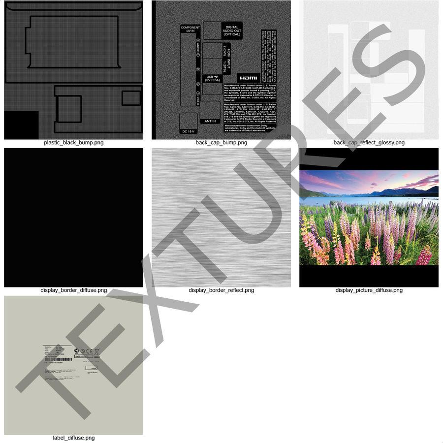 일반 LED TV royalty-free 3d model - Preview no. 21