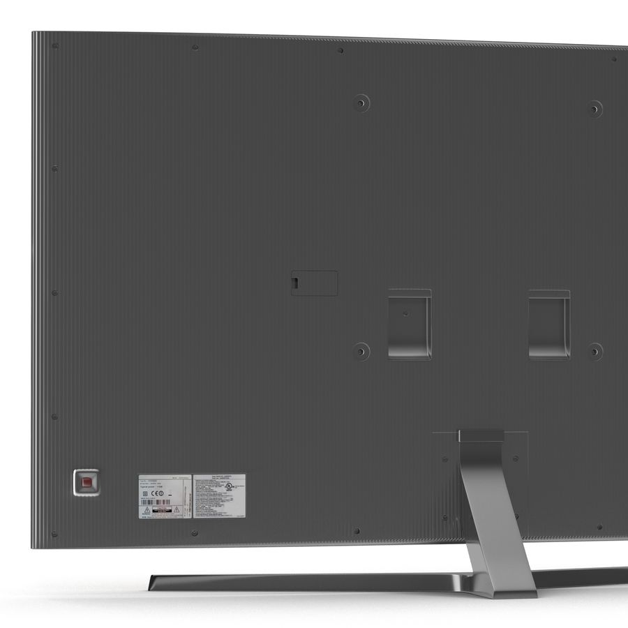 Generic Curved TV royalty-free 3d model - Preview no. 11