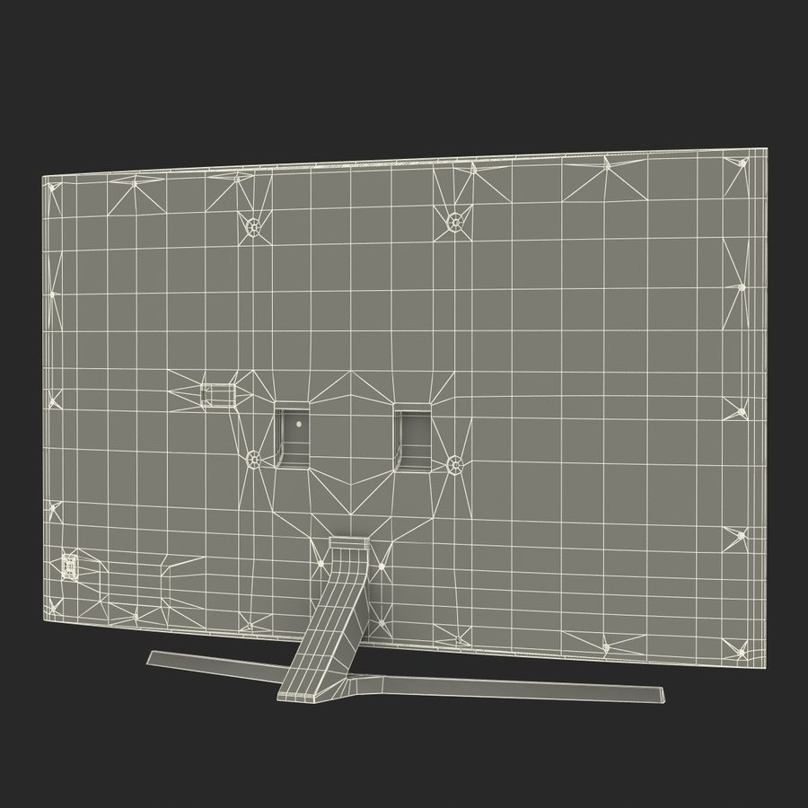 Generic Curved TV royalty-free 3d model - Preview no. 23