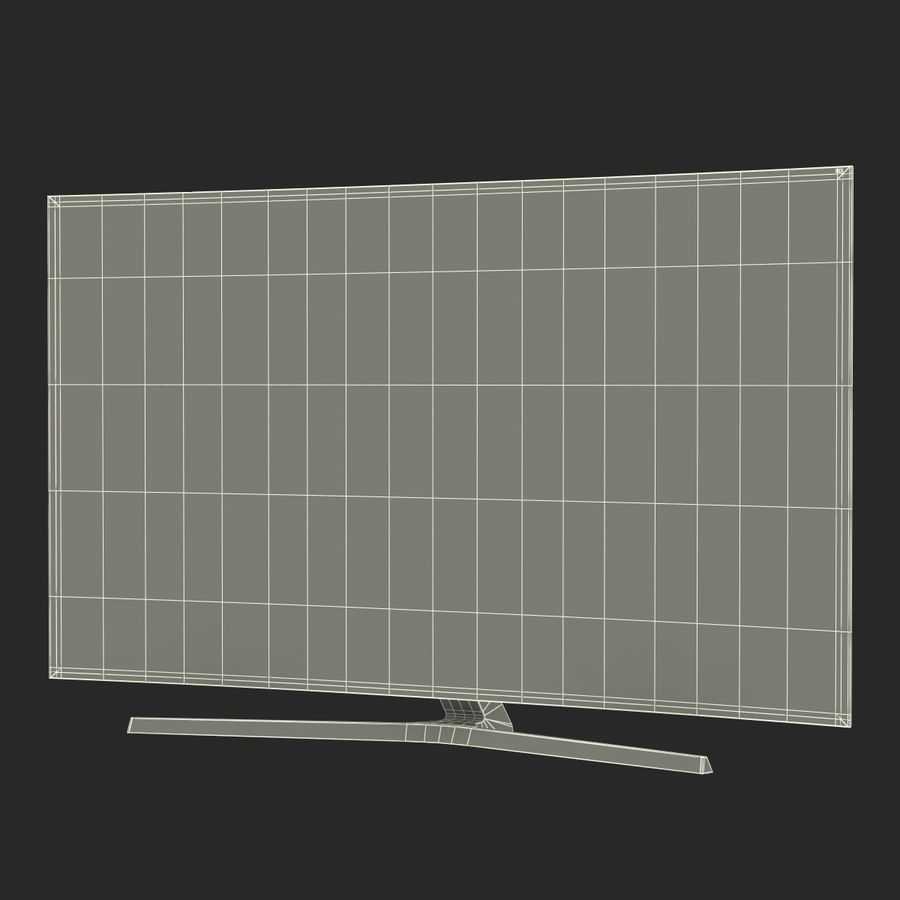 Generic Curved TV royalty-free 3d model - Preview no. 22