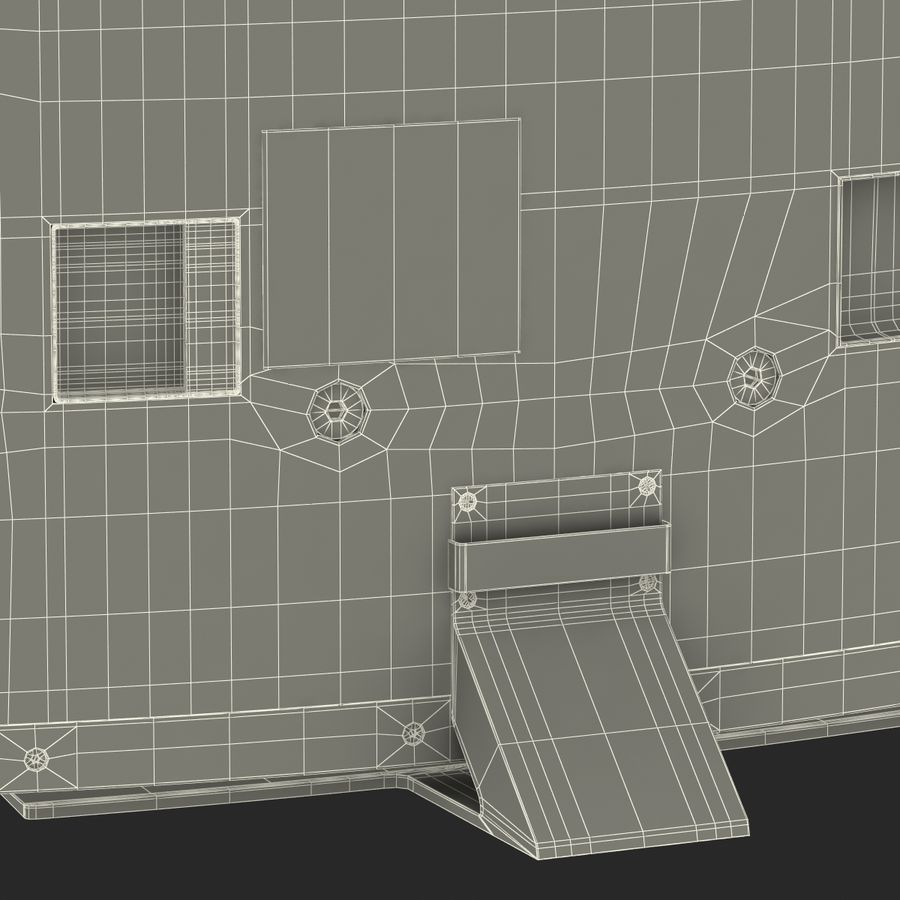 Generic Curved TV 2 royalty-free 3d model - Preview no. 29
