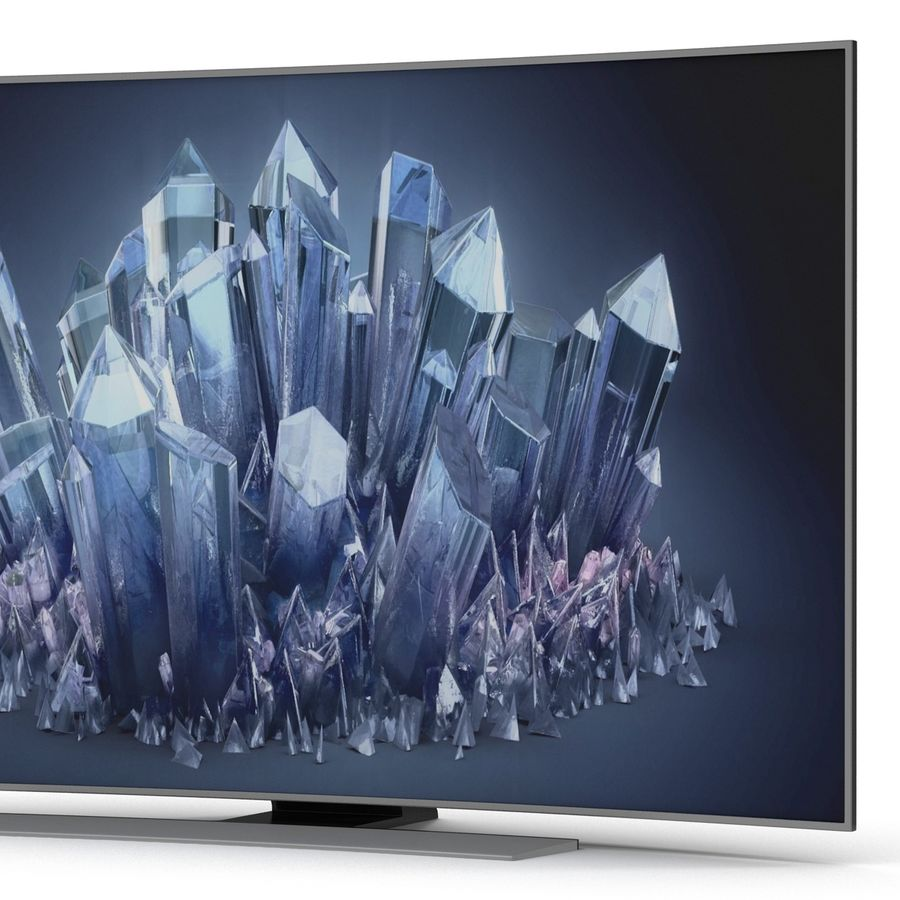 Generic Curved TV 2 royalty-free 3d model - Preview no. 9